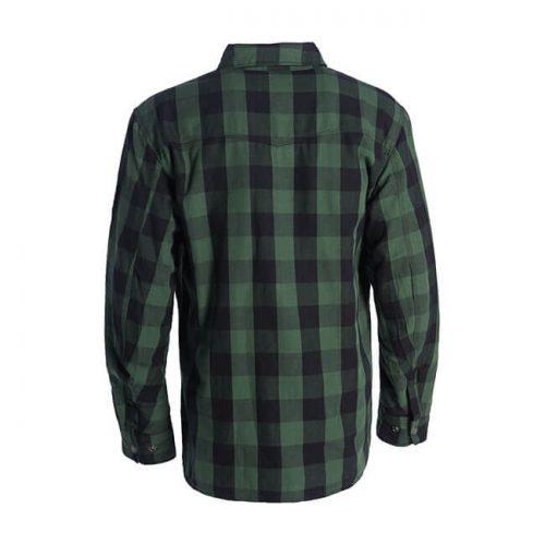 Camisa kevlar WCC Dominator Riding verde/negra