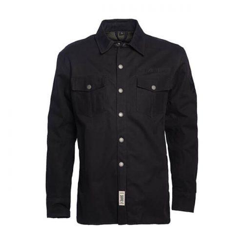 Camisa de lona y kevlar WCC negra